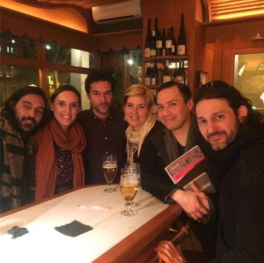 Ely Daou, Alexia Medici, Marc Larré, Katerina Ashche, Luis Guerra y Oriol Texidor
